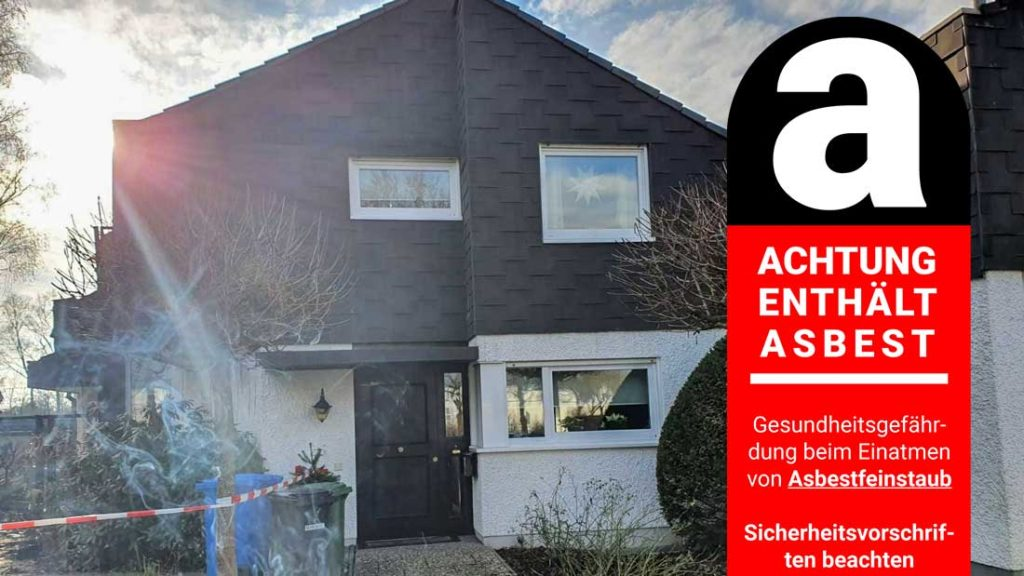 Fachgerechte Sanierung von Hausfassaden die mit Asbest belastet sind | AsbestProfi Darmstadt